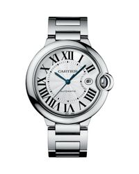 Cartier | Metallic Ballon Bleu De Large Stainless Steel Bracelet Watch | Lyst