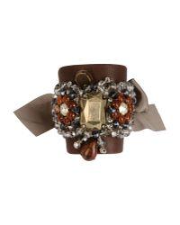 Gedebe - Brown Bracelet - Lyst