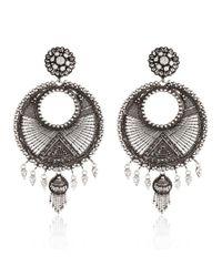 DANNIJO | Metallic Tricia Earrings | Lyst