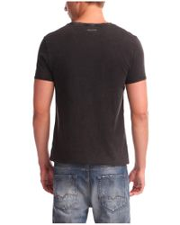 BOSS Orange - Black 'tiberion' | Cotton Block Print T-shirt for Men - Lyst