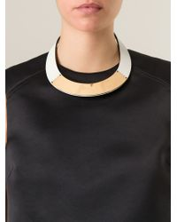 Marni - Metallic Panel Choker - Lyst