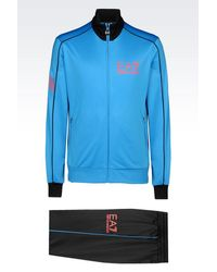 EA7 | Black 7colours Line Tracksuit for Men | Lyst