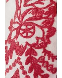Alice By Temperley | Myra Embroidered Cotton Shorts | Lyst