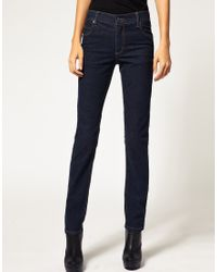 Cheap Monday - Blue Rinse Wash Skinny Jean - Lyst