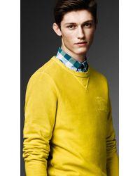 Burberry - Blue Cotton Gingham Shirt for Men - Lyst