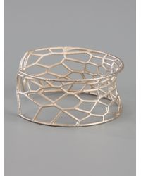 Lotocoho - Metallic Geometric Cuff - Lyst