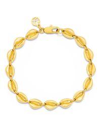 Tory Burch - Yellow Mikah Simple Bracelet - Lyst