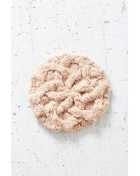 Urban Outfitters | Pink Braided Cable Beret | Lyst