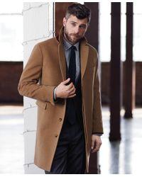 Brooks Brothers - Blue Brushed Flannel Slim Tie for Men - Lyst