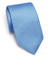 Eton of Sweden | Blue Mini-dot Silk Tie for Men | Lyst