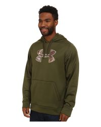 Under Armour | Green Storm Caliber Hoodie for Men | Lyst
