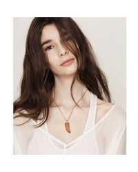 Jenny Bird | Orange Wildland Necklace - Small | Lyst