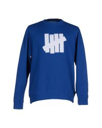 Undefeated | Blue Sweatshirt for Men | Lyst