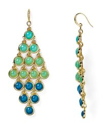 ABS By Allen Schwartz - Metallic Chandelier Earrings - Lyst