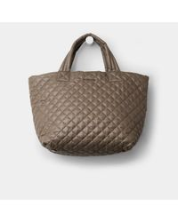 MZ Wallace - Natural Clay Oxford Nylon Medium Metro Tote - Lyst