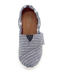 TOMS - Blue Chambray Stars & Stripes Bimini Shoe - Lyst