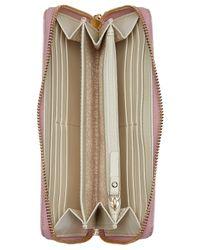 kate spade new york | Metallic Glitter Bug Patent Wallet | Lyst