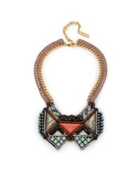 Nocturne | Pink Hans Necklace - Coral | Lyst