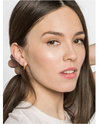BaubleBar - Metallic Hook Ear Jackets - Lyst