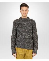 Bottega Veneta - Multicolor Multicolour Intreccio Wool Sweater for Men - Lyst