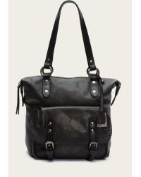 Frye | Black Veronica Shoulder | Lyst