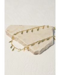 Forever 21 | Metallic Emerald Duv Twinkle Belly Chain | Lyst