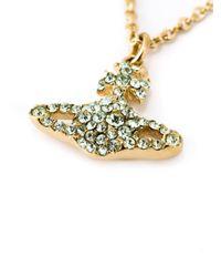Vivienne Westwood | Green 'Grace' Necklace | Lyst