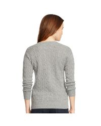 Polo Ralph Lauren | Gray Julianna Sweater | Lyst
