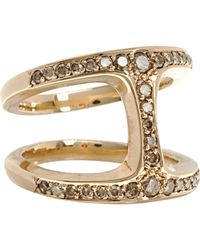 Hoorsenbuhs | Metallic Dame Phantom Ring | Lyst
