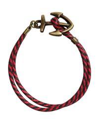 H&M   Red Bracelet for Men   Lyst