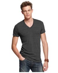 Alternative Apparel | Black Boss V Neck Core T Shirt for Men | Lyst