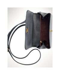 Ralph Lauren - Black Whitby Leather Cross-body Bag - Lyst