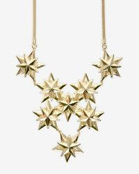Auden - Metallic Exclusive Star Cluster Bib Necklace - Lyst