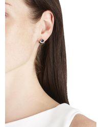 Iosselliani - Metallic 18Kt Gold Plated Ring And Fan Earrings - Lyst