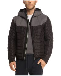BOSS Green - Black Outdoor Jacket 'jarmin' for Men - Lyst