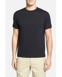 Ibex | Black 'w2' Merino Wool Blend Crewneck T-shirt for Men | Lyst