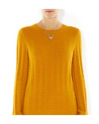 Hobbs - Metallic Nw3 Stag Necklace - Lyst