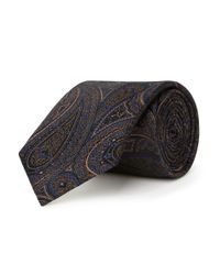 Chester Barrie | Purple Patterned Tie for Men | Lyst