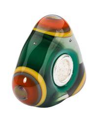 Trollbeads | Green Sterling Silver Spiritual Cone Charm | Lyst