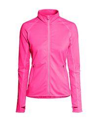 H&M - Pink Running Jacket - Lyst