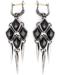 Stephen Webster - Black Small 'superstone' Earrings - Lyst