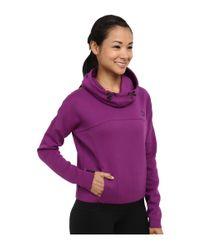 PUMA - Purple Hoodie - Lyst