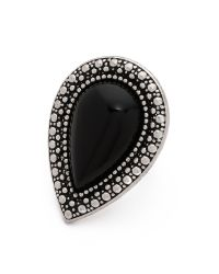 Samantha Wills | Bohemian Bardot Ring - Black/Silver | Lyst