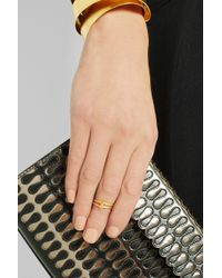 Maria Black - Metallic Convertible Double Gold-Plated Phalanx Ring - Lyst