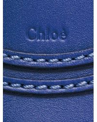 Chloé - Blue Mini Marcie Crossbody Bag - Lyst