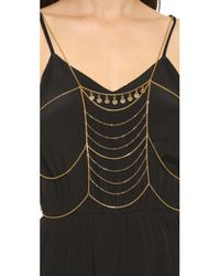 Vanessa Mooney - Metallic The Sundance Body Chain - Gold - Lyst