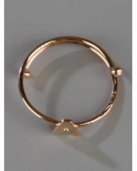 Maman Et Sophie | Metallic 'A' Ring | Lyst