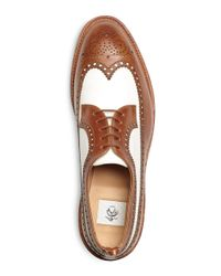 Brooks Brothers - Brown Spectator Wingtips for Men - Lyst