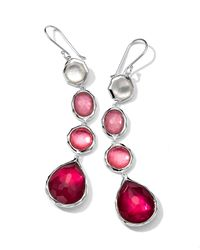 Ippolita - Pink Wonderland 4drop Earrings Rio - Lyst
