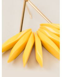 Marni - Yellow Earrings - Lyst
